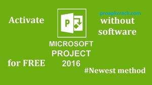 Microsoft Project 2016 Crack