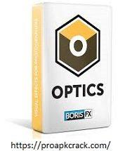 Boris FX Optics 2021 Crack