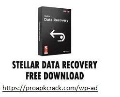 Stellar Data Recovery Professional 10.1.0.0 Crack